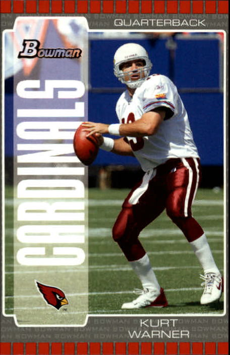 2005 Bowman #27 Kurt Warner
