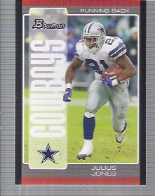 2005 Bowman #29 Julius Jones