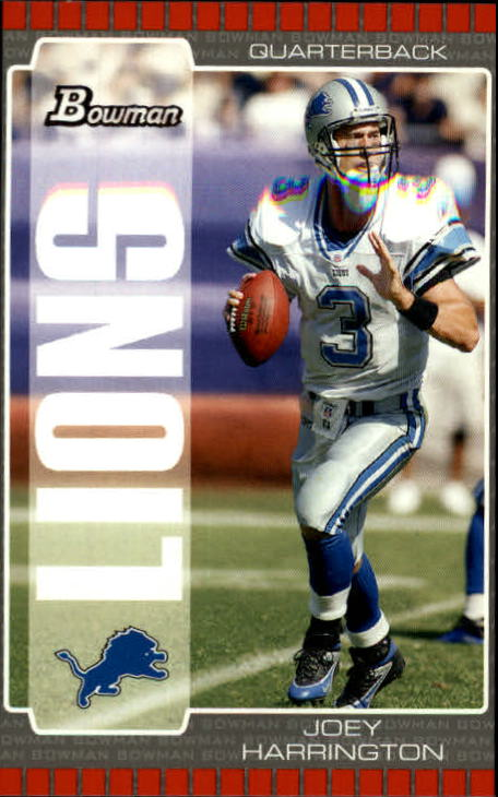 2005 Bowman #35 Joey Harrington