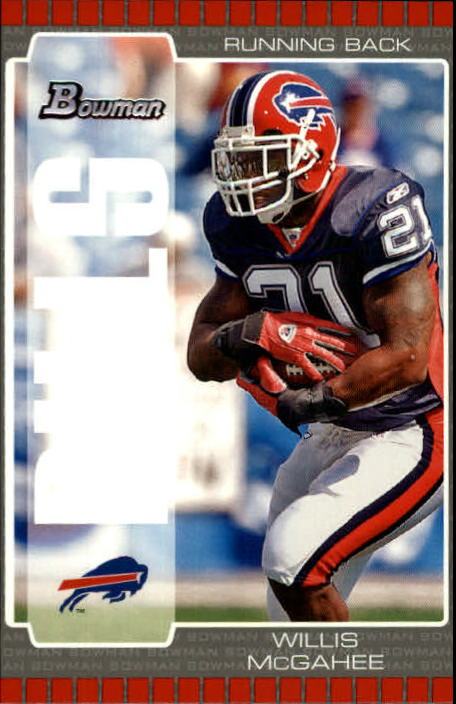 2005 Bowman #44 Willis McGahee