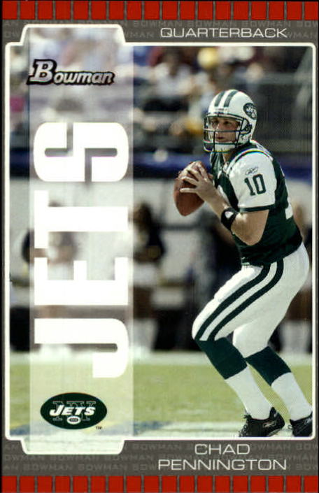 2005 Bowman #49 Chad Pennington
