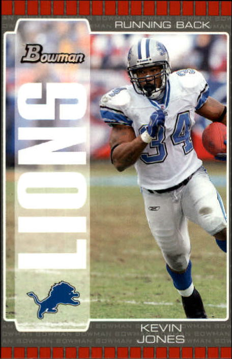 2005 Bowman #66 Kevin Jones