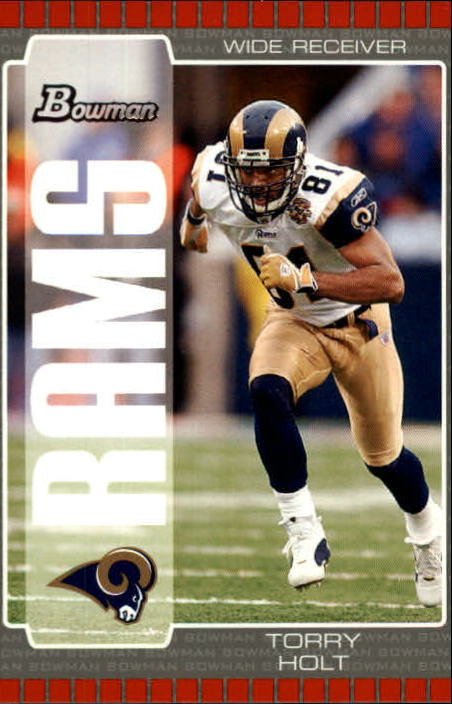 2005 Bowman #81 Torry Holt