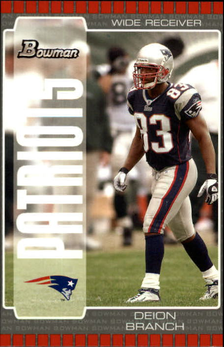 2005 Bowman #89 Deion Branch