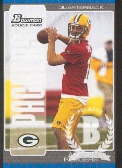 2005 Bowman #112 Aaron Rodgers RC