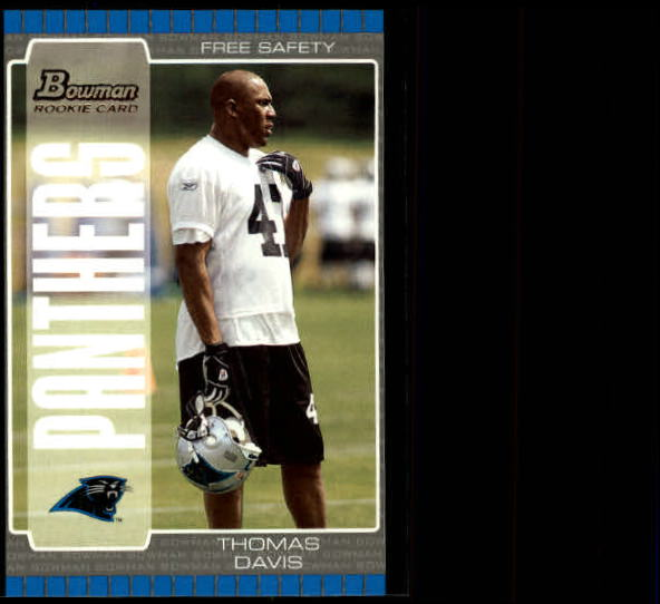 2005 Bowman #146 Thomas Davis RC