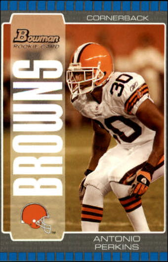2005 Bowman #256 Antonio Perkins RC