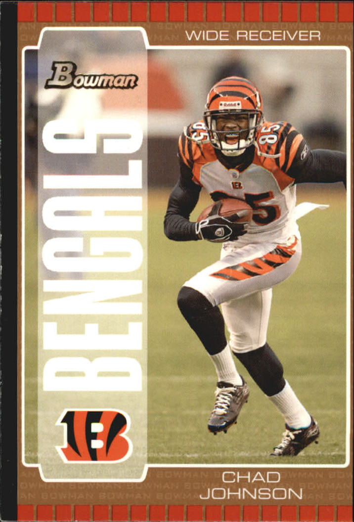 2005 Bowman Bronze #64 Chad Johnson