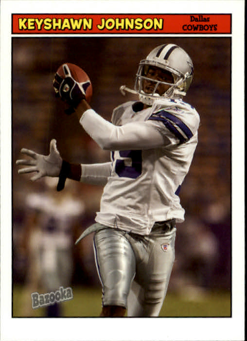 2005 Bazooka #19 Keyshawn Johnson