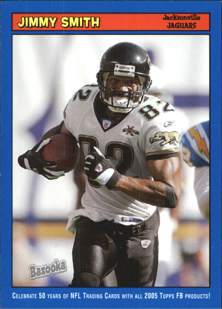2005 Bazooka Blue #48 Jimmy Smith