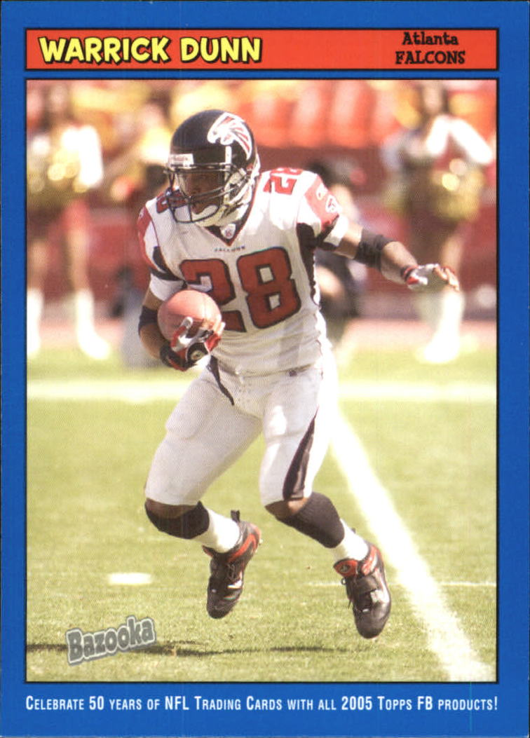 2005 Bazooka Blue #120 Warrick Dunn