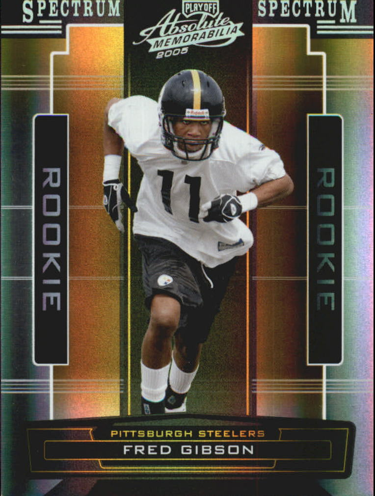 2005 Absolute Memorabilia Spectrum Silver #173 Fred Gibson