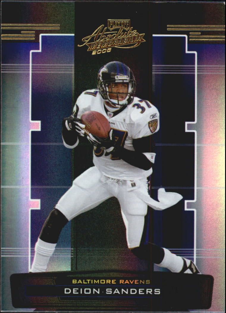 2005 Absolute Memorabilia #10 Deion Sanders