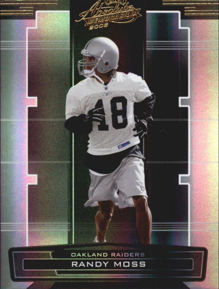2005 Absolute Memorabilia #109 Randy Moss