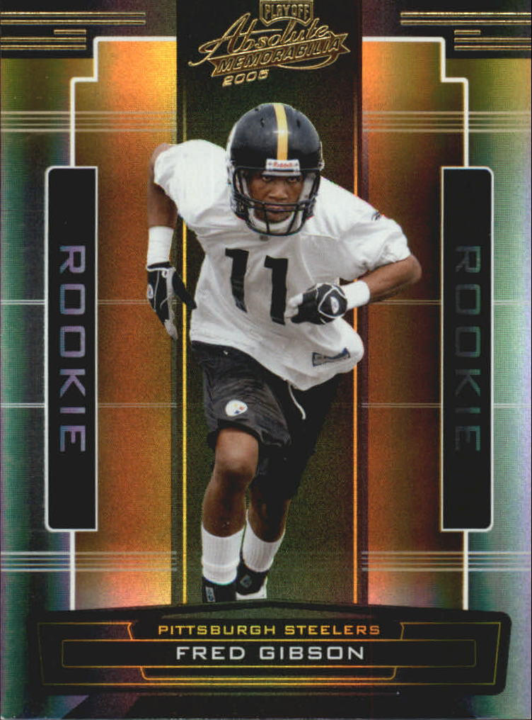 2005 Absolute Memorabilia #173 Fred Gibson RC