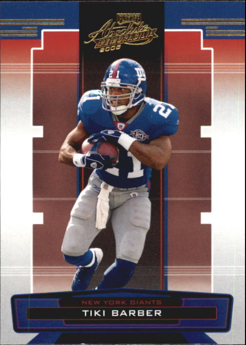 2005 Absolute Memorabilia Retail #101 Tiki Barber