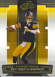 2005 Absolute Memorabilia Retail #116 Ben Roethlisberger