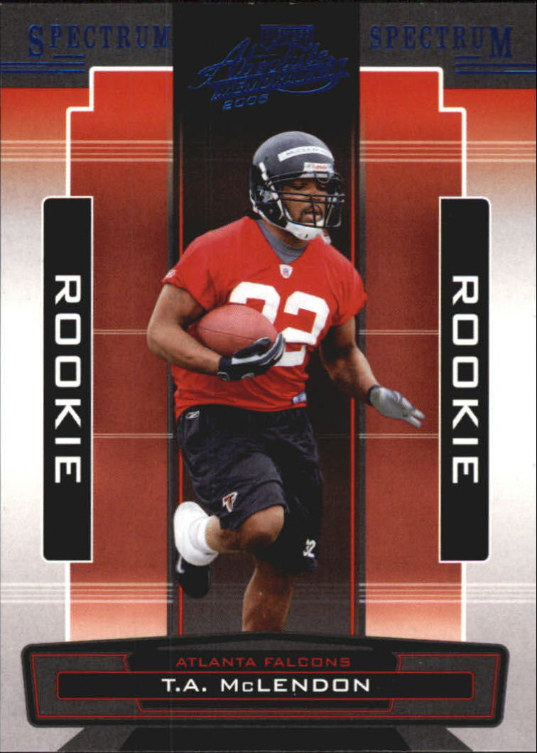 2005 Absolute Memorabilia Spectrum Blue Retail #198 T.A. McLendon