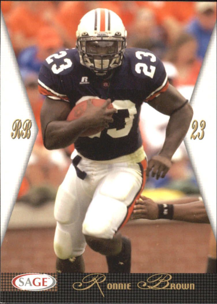 2005 SAGE #7 Ronnie Brown front image