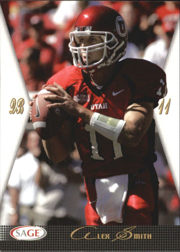 2005 SAGE #41 Alex Smith QB
