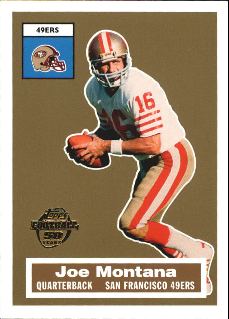 2005 Topps Turn Back the Clock #2 Joe Montana