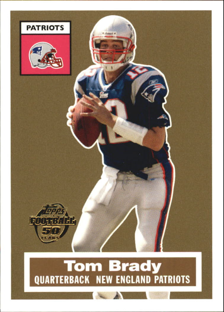 2005 Topps Turn Back the Clock #6 Tom Brady