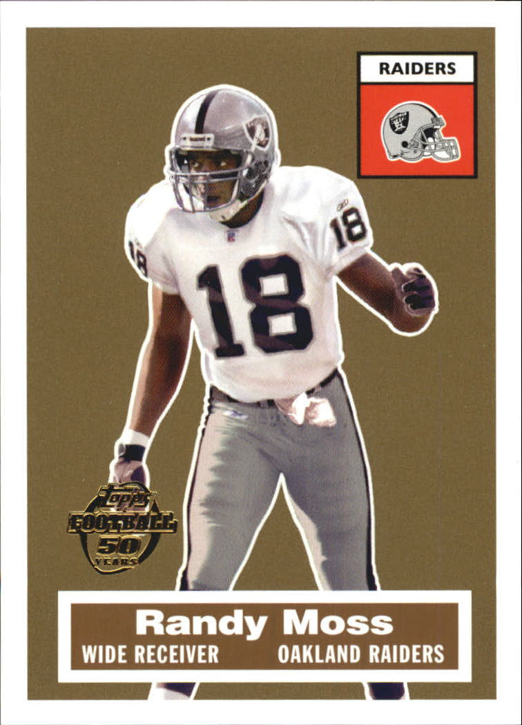 2005 Topps Turn Back the Clock #10 Randy Moss
