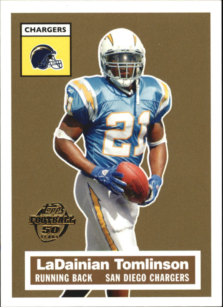 2005 Topps Turn Back the Clock #12 LaDainian Tomlinson