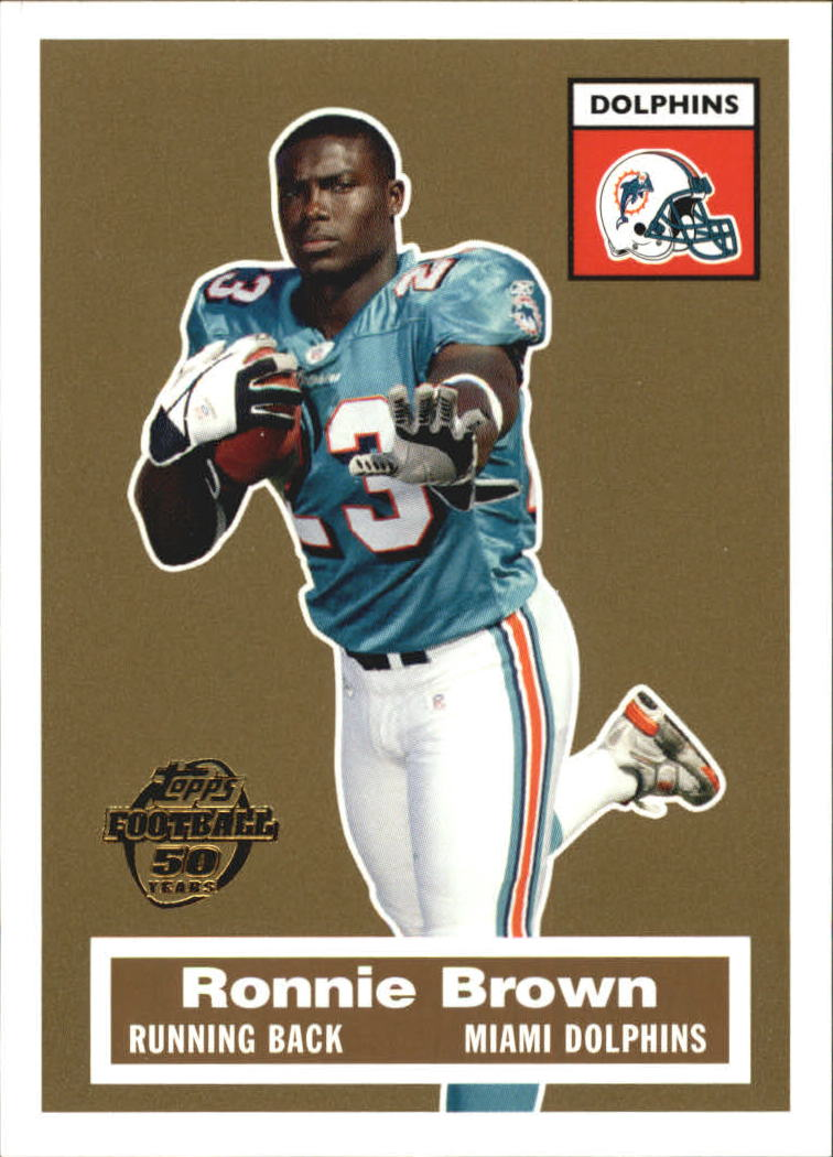 2005 Topps Turn Back the Clock #14 Ronnie Brown