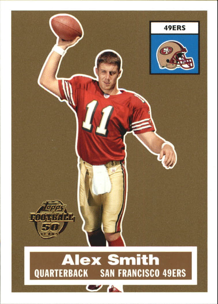 2005 Topps Turn Back the Clock #16 Alex Smith QB