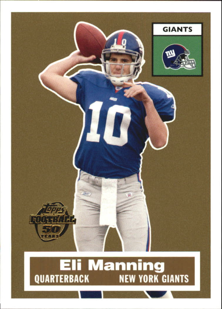 2005 Topps Turn Back the Clock #17 Eli Manning