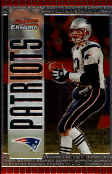 2005 Bowman Chrome #8 Tom Brady