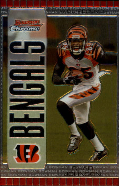 2005 Bowman Chrome #87 Chad Johnson