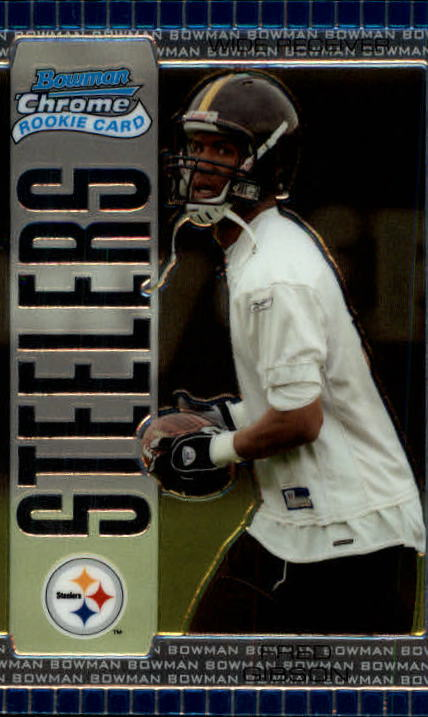 2005 Bowman Chrome #129 Fred Gibson RC