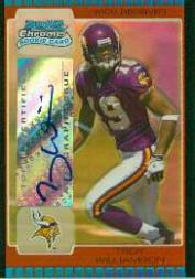 2005 Bowman Chrome Gold Refractors #227 Troy Williamson AU