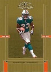 2005 Donruss Classics #202 Ronnie Brown RC