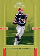 2005 Donruss Classics #203 Braylon Edwards RC