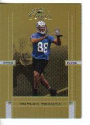 2005 Donruss Classics #207 Mike Williams front image