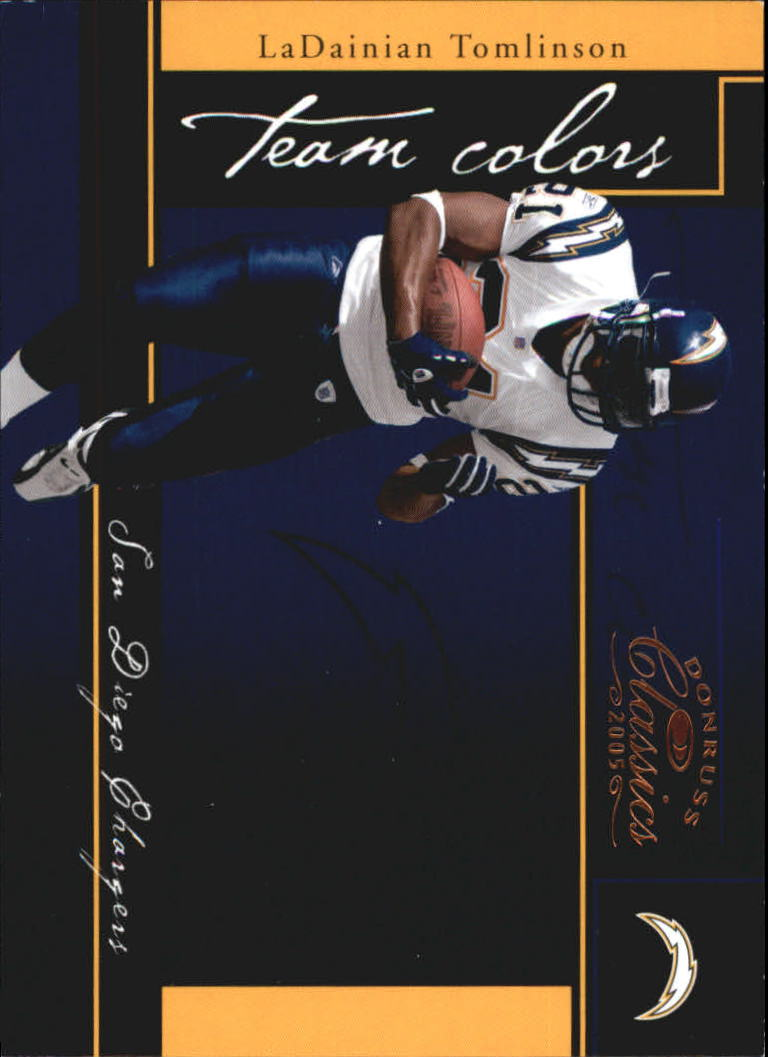 2005 Donruss Classics Team Colors Bronze #TC25 LaDainian Tomlinson