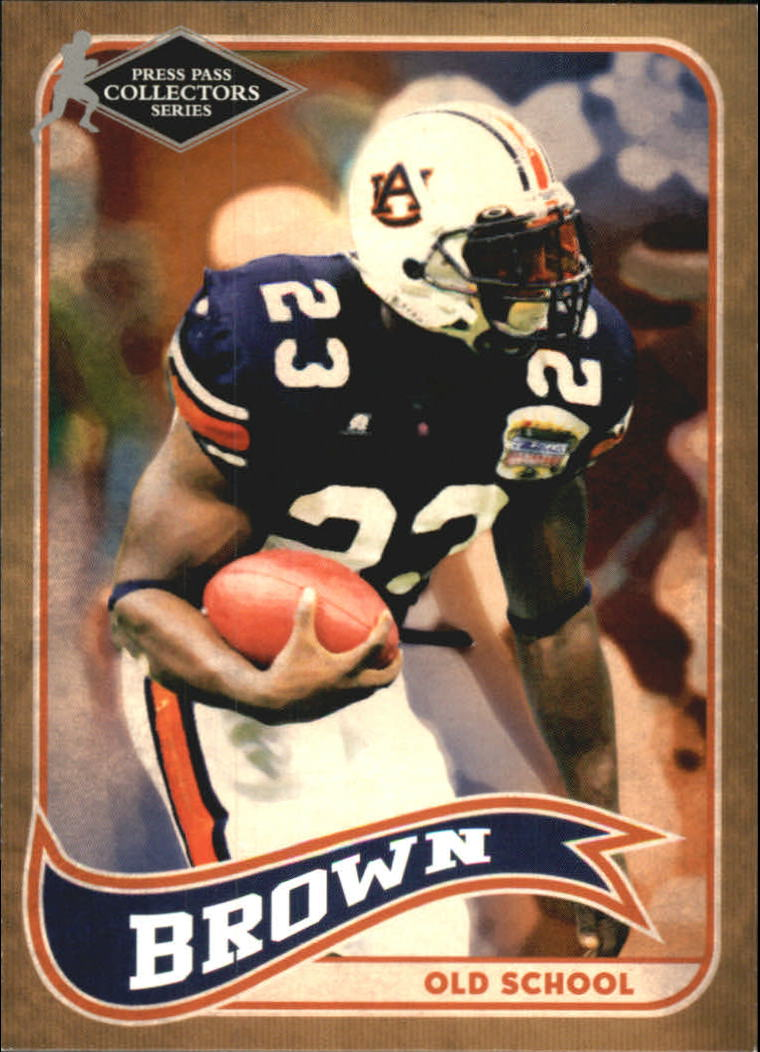2005 Press Pass SE Old School Collectors Series #OS3 Ronnie Brown