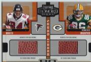 2005 Playoff Honors Rookie Quad Footballs #RQ7 Roddy White/Terrence Murphy/Eric Shelton/Stefan LeFors