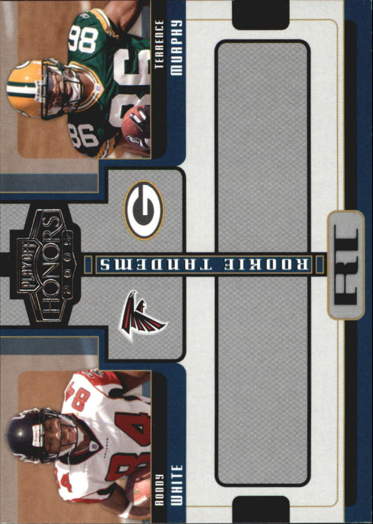 2005 Playoff Honors Rookie Tandem #RT8 Roddy White/Terrence Murphy