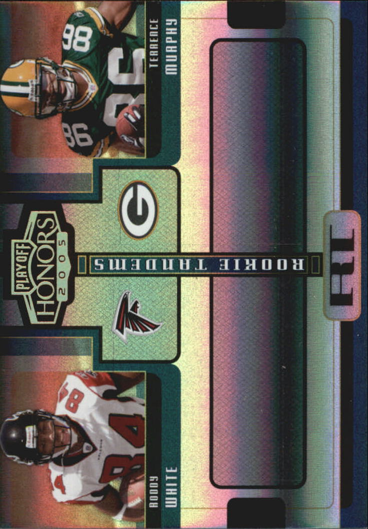 2005 Playoff Honors Rookie Tandem Holofoil #RT8 Roddy White/Terrence Murphy