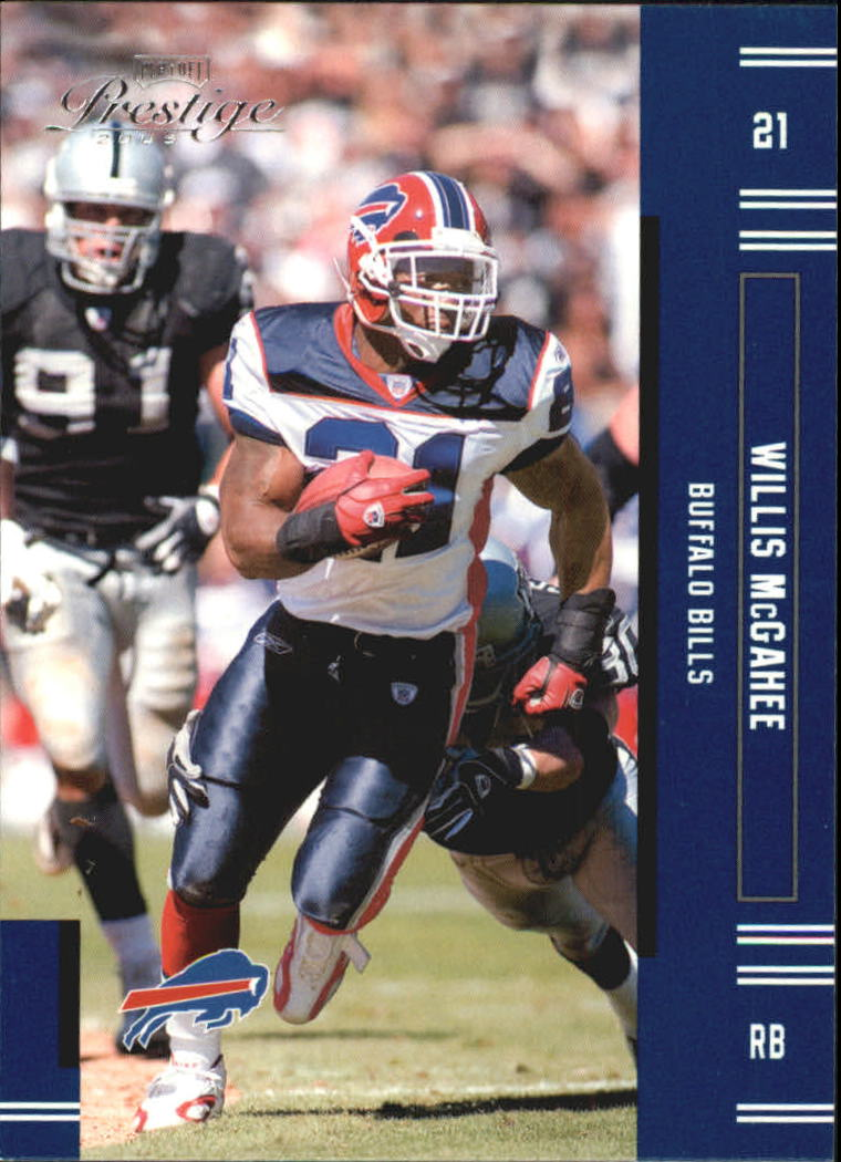 2005 Playoff Prestige #19 Willis McGahee