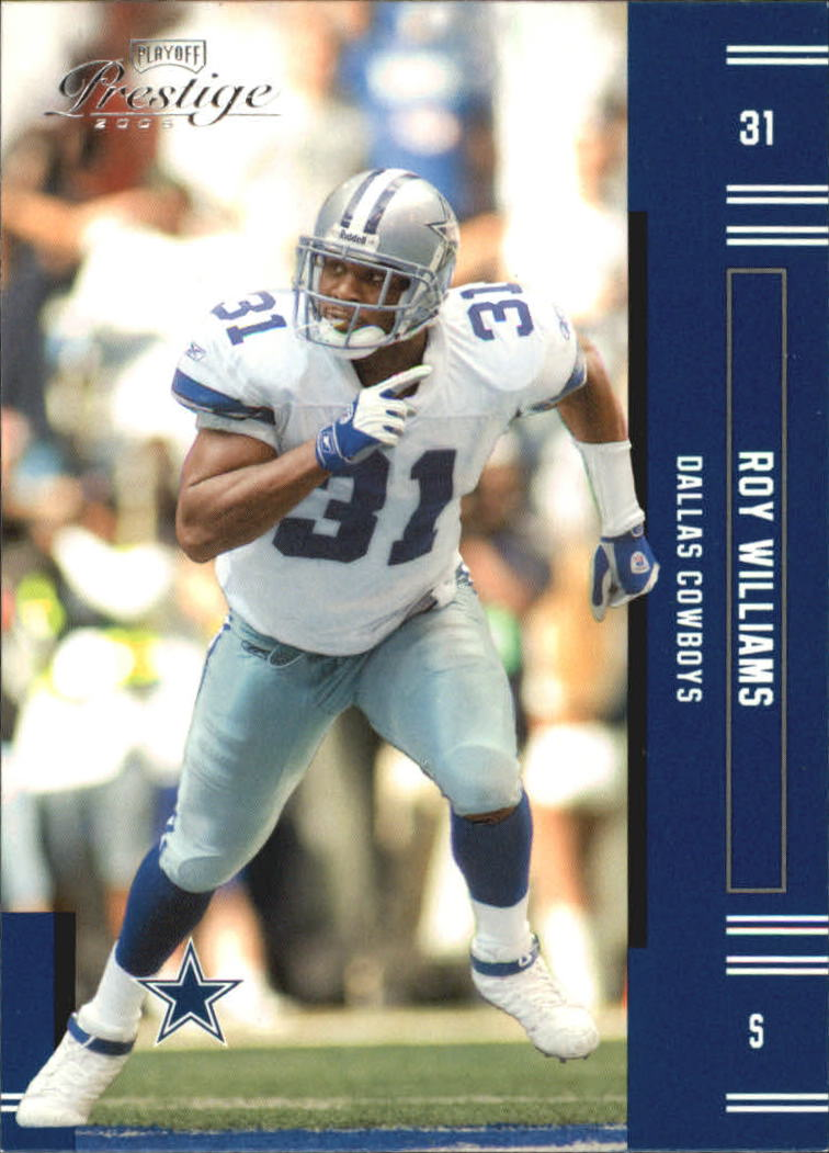 2005 Playoff Prestige #38 Roy Williams S