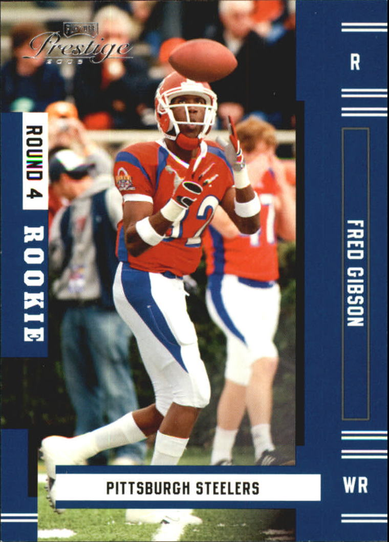2005 Playoff Prestige #197 Fred Gibson RC