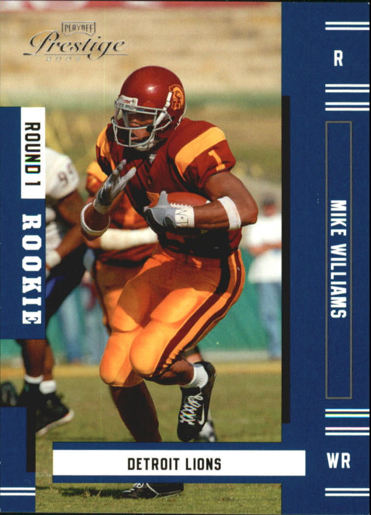 2005 Playoff Prestige #204 Mike Williams