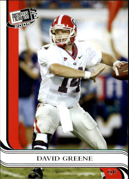 2005 Press Pass SE #2 David Greene