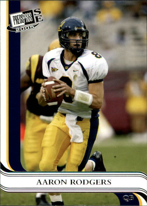 2005 Press Pass SE #7 Aaron Rodgers
