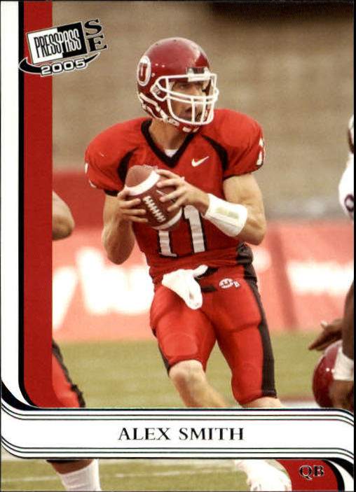 2005 Press Pass SE #8 Alex Smith QB
